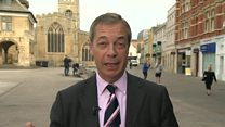 Farage responds to narrow Brexit Party defeat