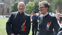 Pride parade first for Durham Cathedral