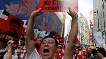 هل تشهد هونغ كونغ أكبر مسيرة احتجاجات منذ تسليمها إلى الصين؟