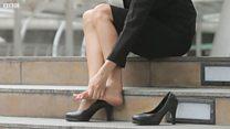 ハイヒールを強制しないで 声を上げる日本の女性たち