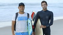 Surfing beyond the divide