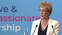 Leadsom recalls youthful ambition to become MP