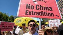 Biểu tình phản đối luật dẫn độ ở Hong Kong