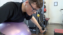 Teen tackles anxiety with exercise