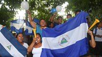 Nicaraguans celebrate prisoner release