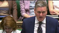 Starmer outlines bid to block no deal