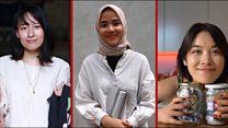 Những phụ nữ châu Á nói không với rác nhựa