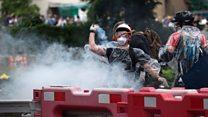 Las violentas protestas de Hong Kong contra la extradición
