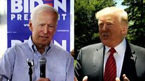 Trump and Biden exchange personal insults