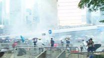 ဟောင်ကောင်မှာ ဆန္ဒပြပွဲတွေ ဆက်ဖြစ်ပွား