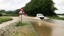 Flooding disrupts travel across country