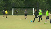 Football team helps men's mental health