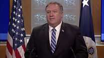 'Iran is lashing out' - Pompeo