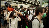 香港デモ、参加者の協力体制は「自然発生」