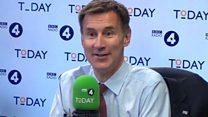 Tory leadership: 'Boris Johnson should be braver' - Jeremy Hunt