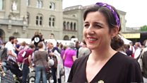 Swiss women protest over unequal pay