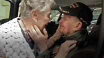 75 лет спустя. Журналисты помогли встретиться американскому военному и француженке, разлученным во время войны