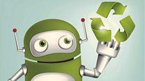 O robô com sensores nos dedos que separa lixo reciclável