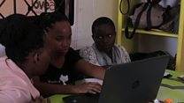 Training girls for Tanzania's IT industry