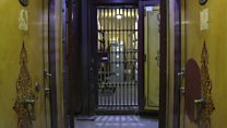 Inside the hidden vaults of a former safe