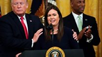 Sarah Sanders' most memorable moments