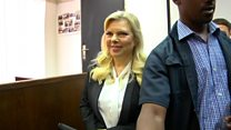 Netanyahu's wife appears in court