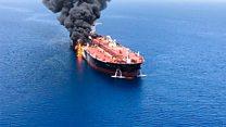 حمله به نفتکشها در دریای عمان؛ عربستان: کار ایران است