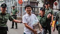 Nhà hoạt động Joshua Wong được Hong Kong trả tự do
