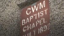 The Welsh chapel with only one member