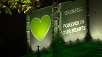 Memorials mark second Grenfell anniversary
