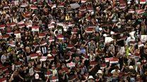 Два миллиона протестующих на улицах Гонконга: таймлапс