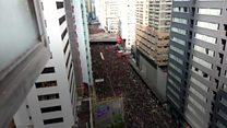 مظاهرات هونغ كونغ: الاحتجاجات تعود للشوارع
