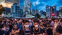 فعال دانشجویی سرشناس خواهان کنارهگیری رییس اجرایی هنگکنگ شد