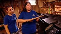 First female gondola-making business
