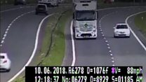 Truck driver banned for 89mph 'madness'