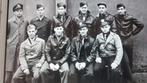 WW2 bomber crash pilots honoured
