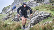 Fell runner breaks peaks record