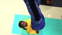 How dis Nigerians wan make pipo see Yoga as way to beta life