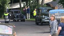 D-day convoy returns to England