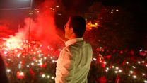 Opposition celebrates victory in Istanbul
