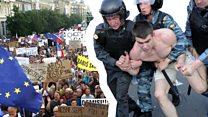 Протесты: что можно в Чехии и нельзя в России?