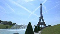 Paris faces record 40C heat in June