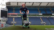 Lawnmower man pushes for 24-hour record