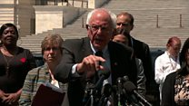 Sanders proposes to wipe out student debt