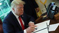 آمریکا رهبر ایران را تحریم کرد