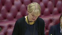 Baroness Blackwood faints in House of Lords