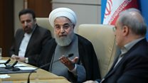 Rouhani: Sanctions show US is 'full of lies'
