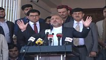 اعتراض در کابل به ادامه ریاست جمهوری غنی