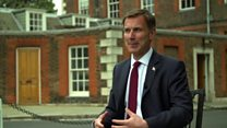 Jeremy Hunt interview in full