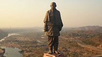 Did world's tallest statue bring development?